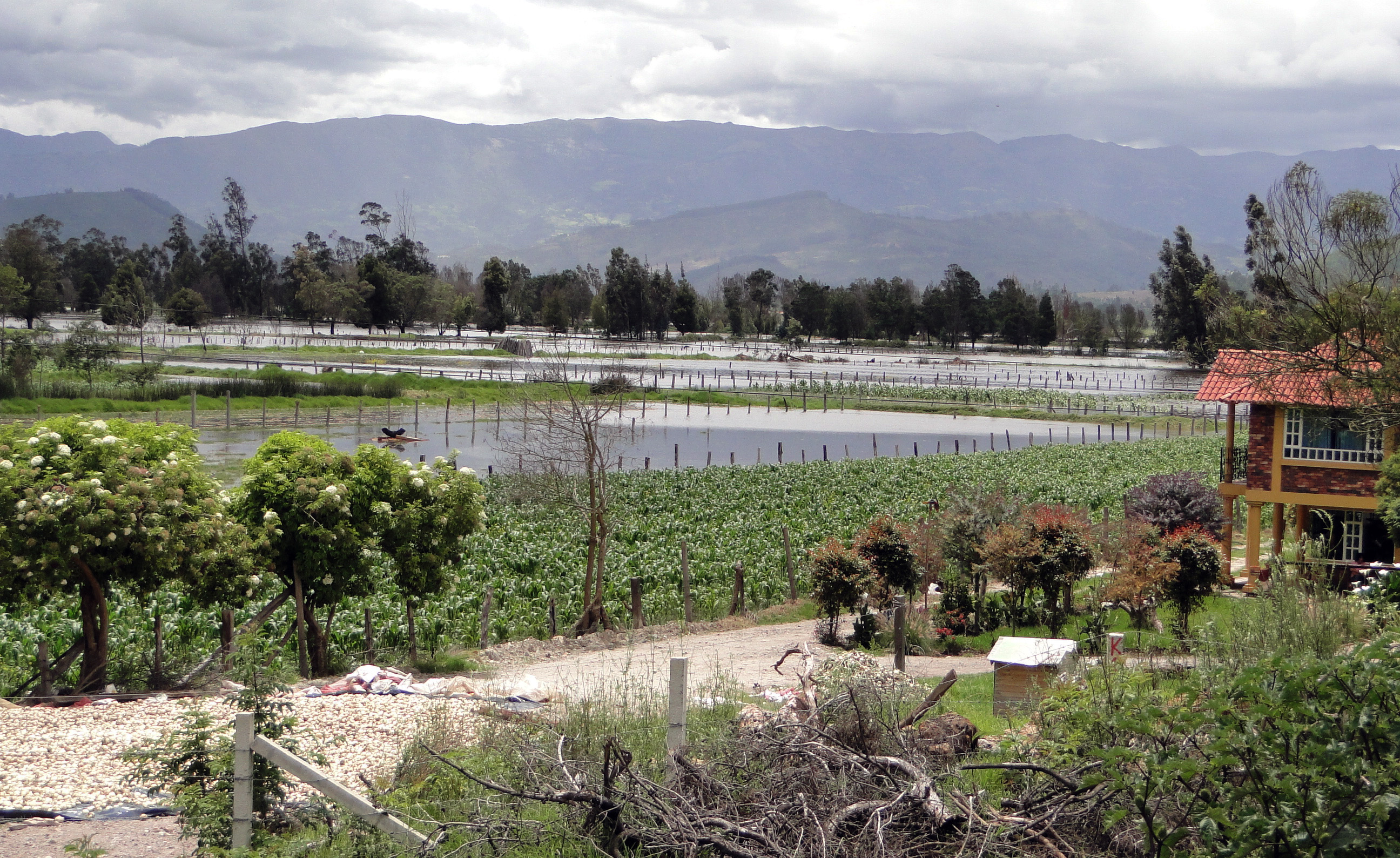 Inundaciones en Boyacá